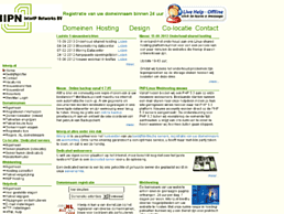 Screenshot van website InterIP